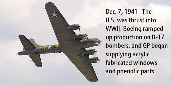B-17 plane