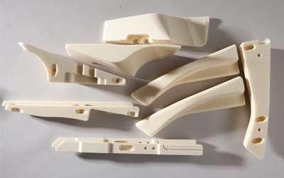 Processed polyurethane foam parts